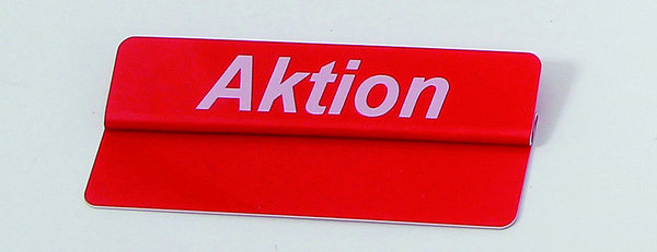 "Top-Aufstecker, 86 x 18 mm, ""Aktion"" 10 St."